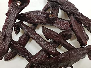 Double Smoke Venison Jerky by Dublin Jerky | Smoked With Hickory Wood, No MSG - 16 Ounce