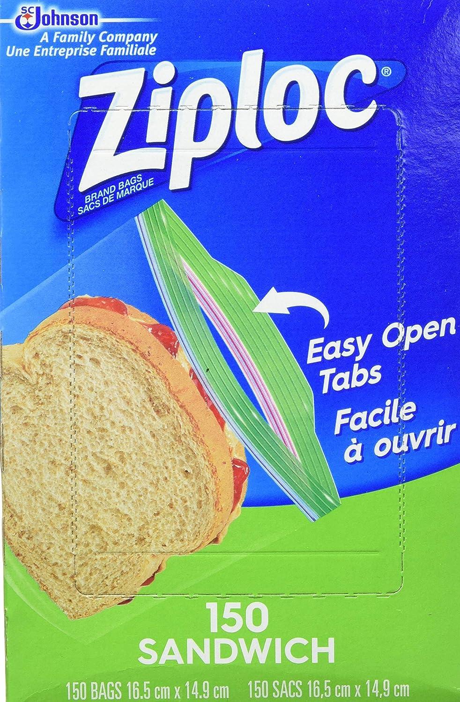 Ziploc 71135 Sandwich Tulsa Mall Bags Phoenix Mall Pack of 150 16.5 x 6.5 5.875-Inch
