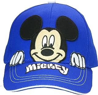 Disney Mickey Mouse Boys Peek-A-Boo Baseball Cap Age 4-7 - 100% Cotton