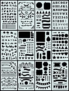 Dotted Journal Stencil Set (Over 300 designs that are great for bullet journaling, planners, and notebooks)