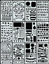 Essentials Dotted Journal Stencil Set: 300 Designs