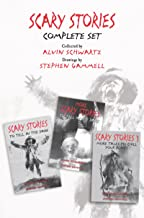 Scary Stories Complete Set: Scary Stories to Tell in the Dark, More Scary Stories to Tell in the Dark, and Scary Stories 3