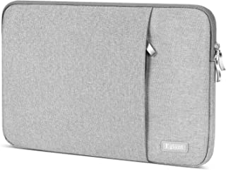 Laptop Sleeve 13.3 Inch, Egiant Water-Resistant Carrying Notebook Cases Bag Compatible Mac Air 13, Mac Pro 13 Retina, Surface Book, Stream 13,13 Inch Chromebook Computer Cover, Gray