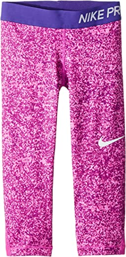 Nike Kids Pro Print Capri (Little Kids/Big Kids)