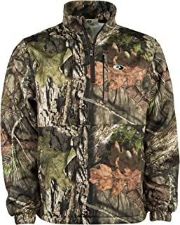 Youth Performance Quarter Zip Camo Pullover for Hunting and Casual Wear in Break-Up Country & Bottomland
