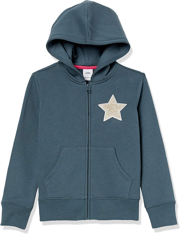 Essentials Felpa in Pile con Cappuccio Fashion-Sweatshirts Bambina
