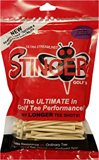 Stinger Pro XL Competition Golf Tees 200 Count Cream 3 in