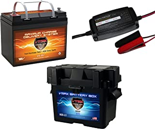 VMAX BC1220A 20A 12V 7Stage Smart Charger Maintainer for SLA 12 Volt RV Battery
