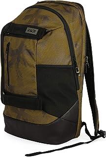 Bookpack Mochila Negro, Caqui - Mochila para portátiles y netbooks (Negro, Caqui, Estampado, 38,1 cm (15