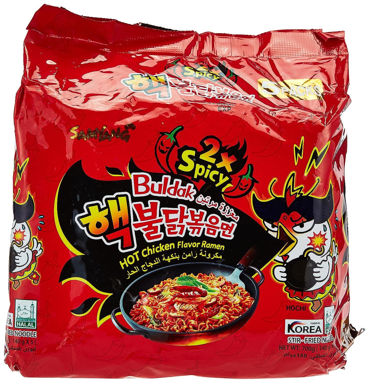 Samyang Bulldark Spicy Max 61% OFF Chicken Roasted Selling rankings Ven_FD1 Oz Noodles 4.93