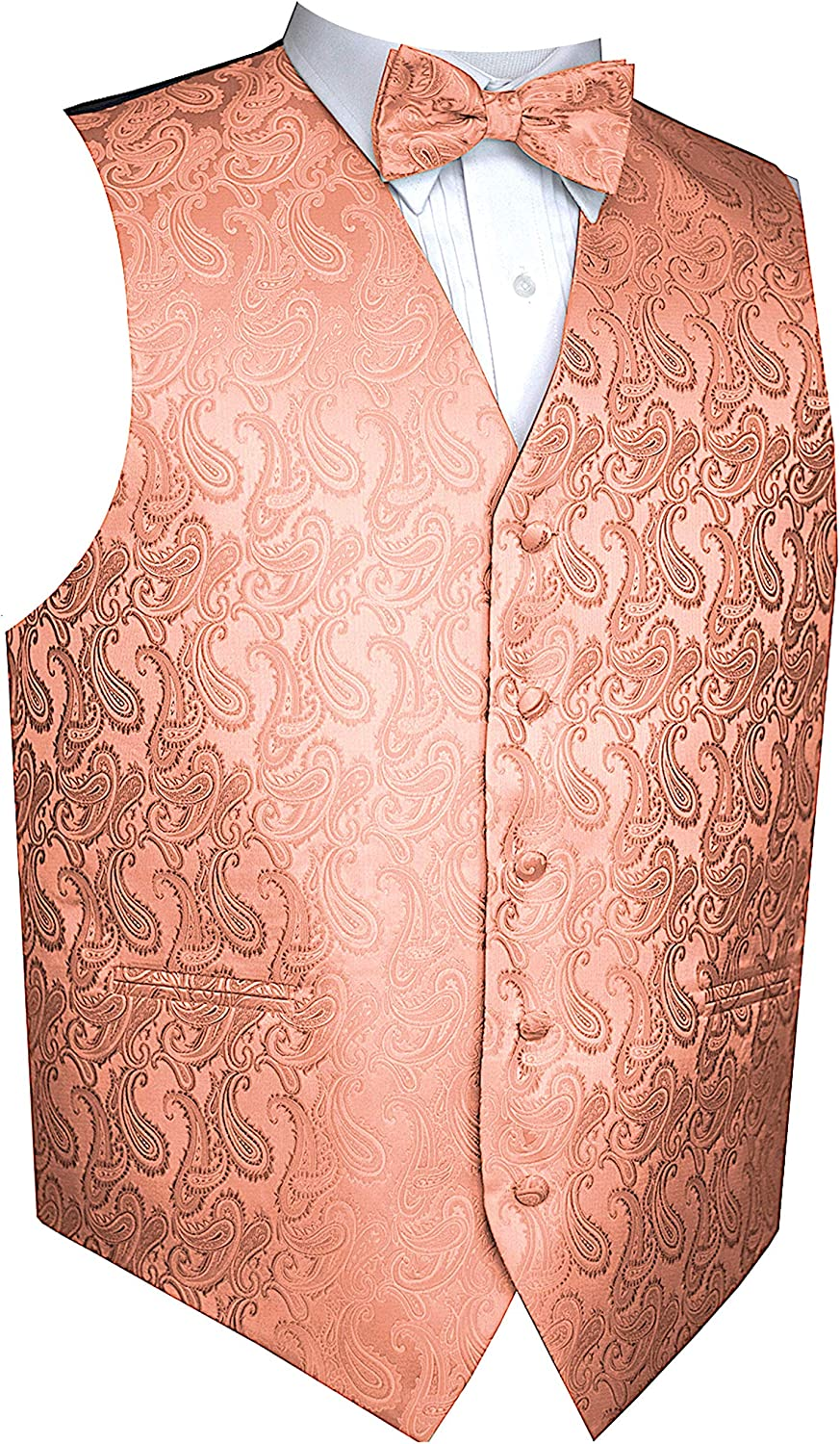 Brand Q Men's Paisley Dress Vest Discount is also underway Bow Tuxedo Free shipping Suit for Set Tie