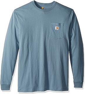 Carhartt Men's Workwear Jersey Pocket Long-Sleeve Shirt...