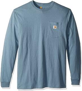 Men's Workwear Jersey Pocket Long-Sleeve Shirt K126...