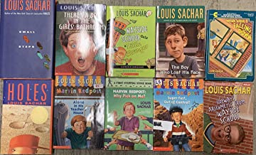 Louis Sachar Youth Fiction Collection Sideways Story Series and More 10 Book Set