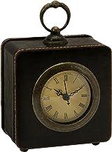 ساعة مكتب من الجلد الصناعي من آيماكس