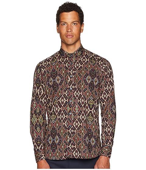 Etro New Warrant Carpet Print Shirt