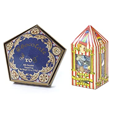 Wizarding Harry Potter Honeyduke's Chocolate Frog & Bertie Botts Candy Set by Universal Studios