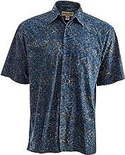 Johari West Brick Wall Hawaiian Tropical Batik Cotton Shirt