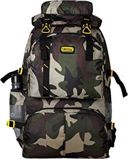 Goldstarbags Military Camp Trekking Bags with Climate Proof Trail-Head Mountain Trekking & Hiking/Camping Backpack 60 Ltrs...