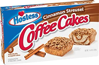 Hostess Cinnamon Streusel Coffee Cakes, 8 Count
