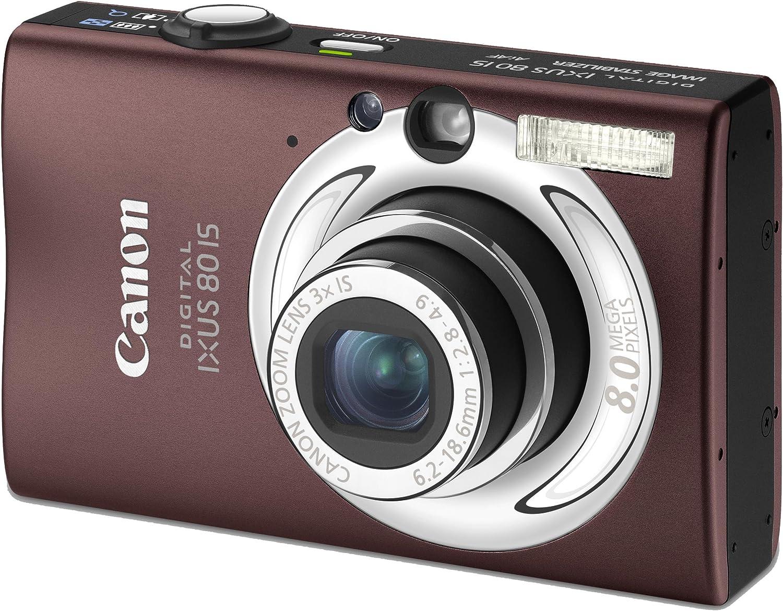 Canon Digital Ixus 80 Is Digitalkamera 8 Megapixel 3 Fach Opt Zoom 2 5 Display Bildstabilisator