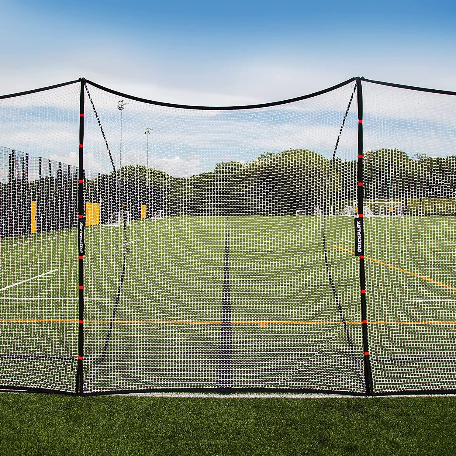 QUICKPLAY Portable Backstop Netting Available in - Nashville-Davidson Mall 12 Cheap mail order specialty store x 32 9'