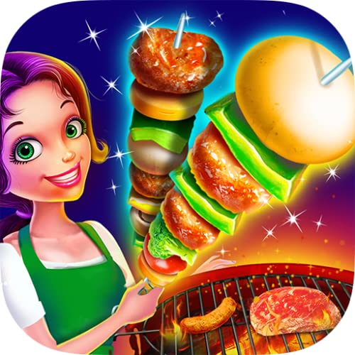 BBQ Grill Maker - Crazy Backyard Barbecue Party!