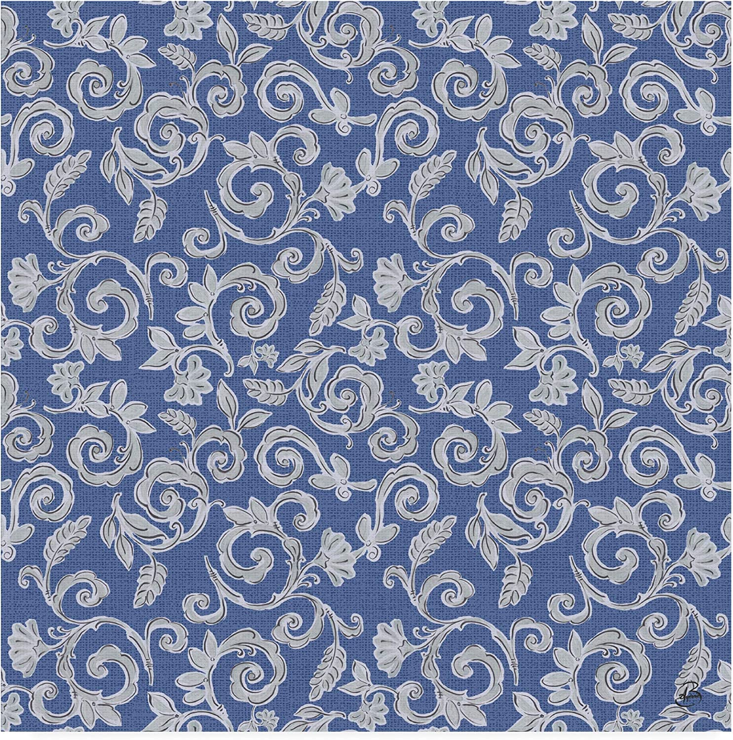 Trademark Fine Art Morning Bloom Pattern Viid