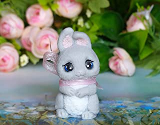 Gray bunny soap - cute soap for children - animal soap