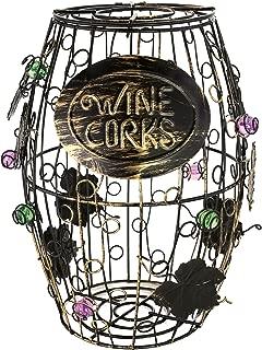 KOVOT Wine Barrel Cork Holder - 9.5 inch