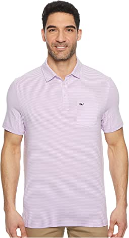 Vineyard Vines - Edgartown Feeder Stripe Performance Polo