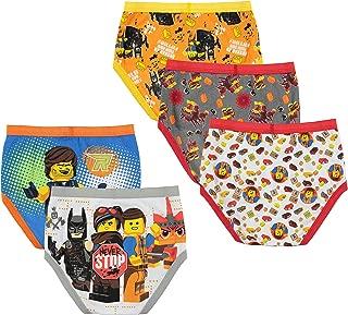 LEGO Boys Movie 2 5-Pack Boxer Briefs