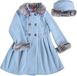 Best double breasted coat fur collar Reviews
