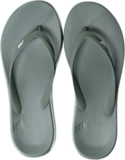 New Balance Unisex 24v1 Thong Sandal,  Olive/White,  8 D US