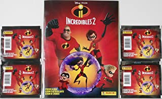 incredibles 2 stickers panini