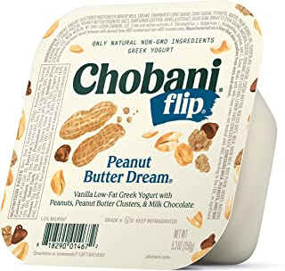 Chobani Flip Low-fat Greek Yogurt, Peanut Butter Dream 5.3oz