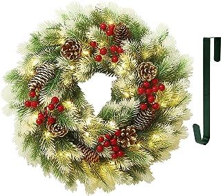 BESPORTBLE 3 Piezas Guirnaldas de Vid Corona de Rama de Vid Guirnalda de Rat/án de Navidad Decoraci/ón de Guirnaldas para Manualidades Navide/ñas O Suministros de Boda