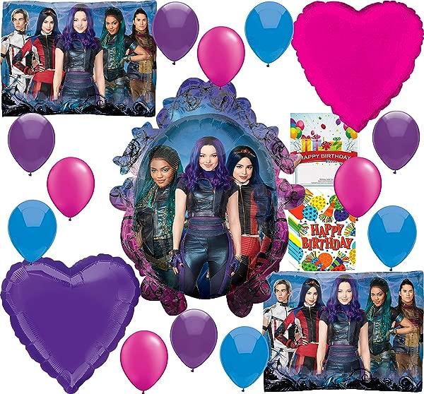 Descendants 3 Party Supplies Birthday Balloon Decoration Bundle