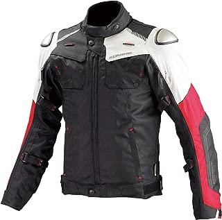 コミネ KOMINE バイク フルイヤーチタニウム ジャケット アウター プロテクター 透湿 防水 保温インナー Black-Red/S 07-588 JK-588