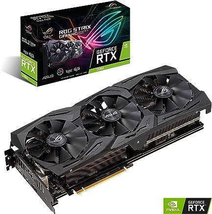ASUS ROG-STRIX-RTX2060-A6G-GAMING - Tarjeta gráfica (NVIDIA GeForce RTX 2060, 6 GB, GDDR6, 192 bit, 7680 x 4320 Pixeles)