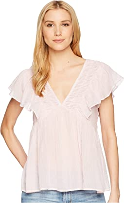 Lucky Brand Stripe Phoebe Top