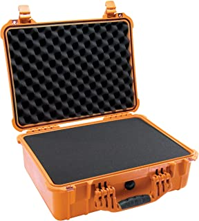 Pelican 1520 Camera Case With Foam (Orange)