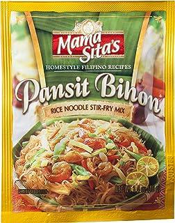 Mama Sita's - Pansit Bihon / Rice Noodle Stir -Fry Mix - Homestyle Filipino REcipe - 1.4 OZ / 40 G - Product of the Philippines