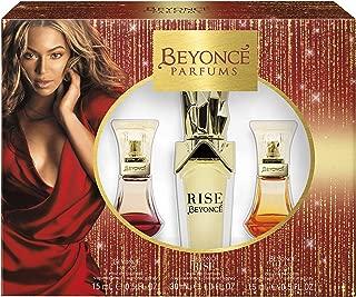 Beyonce Beyonce Heat Rush 3-Piece Gift Set With 1-Ounce Eau De Parfum, 2.5-Ounce Body Lotion, And 2.5-Ounce Shower Gel, 1.146404 Pounds