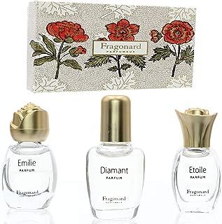 Fragonard Gift Collection of Three Parfums