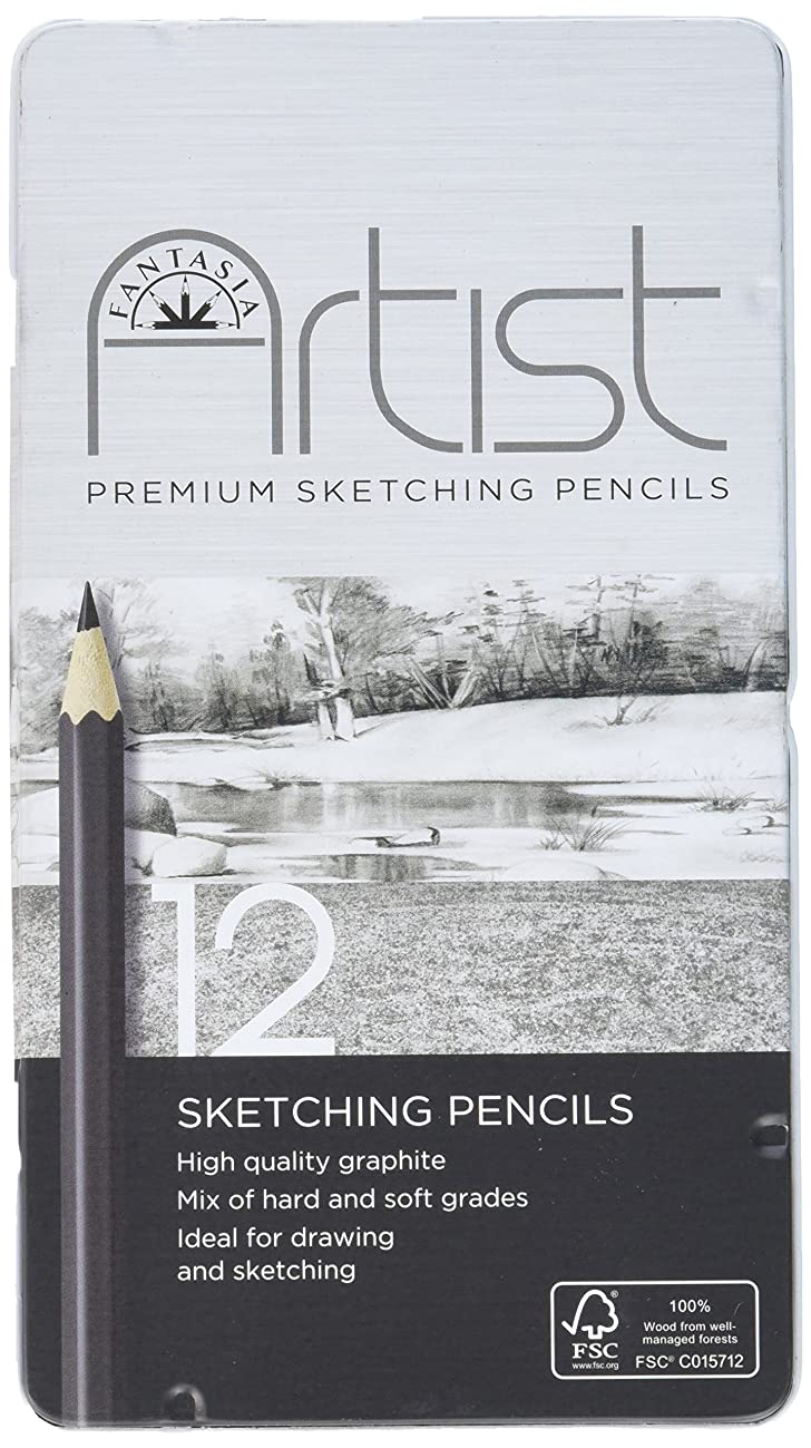 Fantasia Premium Sketching Pencil Set 12pc-
