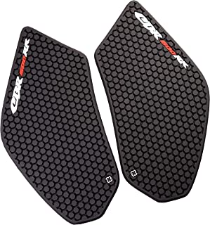 REVSOSTAR Motorcycle Tank Side Traction Pad, Anti Slip sticker,Gas Tank Pad, Traction Side, Fuel Knee Grip Decal for CBR 600RR 2003-2006