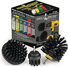Cleaning Accessories - Industrial Brush - Baked on Food Remover - Electric Smoker - Smokers and Grills - Drill Brush - BBQ...