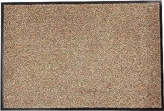 Dandy by William Armes, Soft Cotton Washamat Door Mat, Beige, 150 x 90