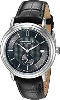 Men's 2838-STC-20001 Analog Display Swiss Automatic Black Watch